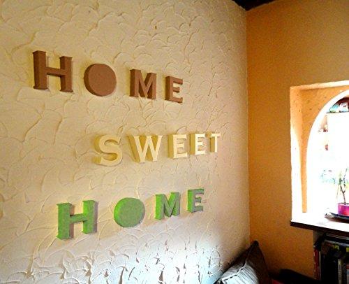 Decooo.be Diseño en Relieve 3D Home Sweet Home