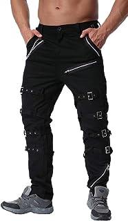 GAGA Men's Fashion Slim Cotton Military Cargo Pants, Work Combat Trousers