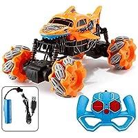 リモコン車、子供のリモコン車4WD OFF ROADモンスタートラック子供のリモコン車の登山車充電モバイルリモコン車おもちゃリモコンオフロード車の少年 (Color : A)