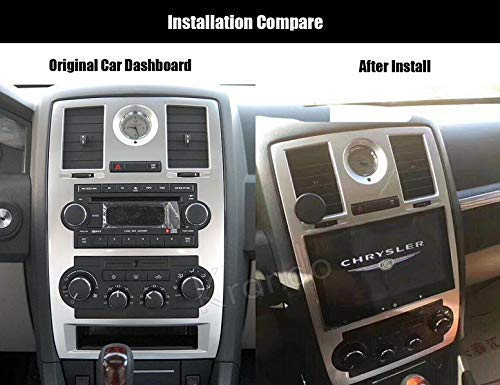 Autoradio Krando Android 7.1 9'' für Chrysler 300c Radio Wifi Android 3G Playstore Bluetooth