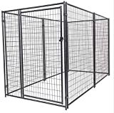 Lucky Dog Large Modular Welded Wire Box Indoor/Outdoor Kennel 10'x5'x6' (2 Pack)
