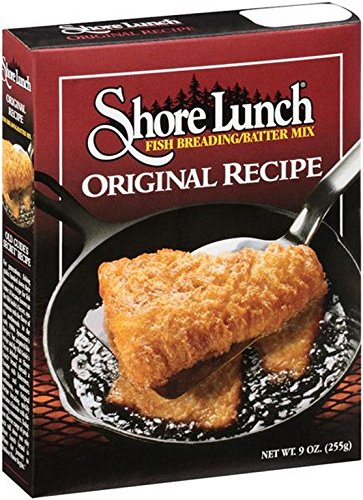 Shore Lunch Breading Fish - Case Of 10 - 9 Oz