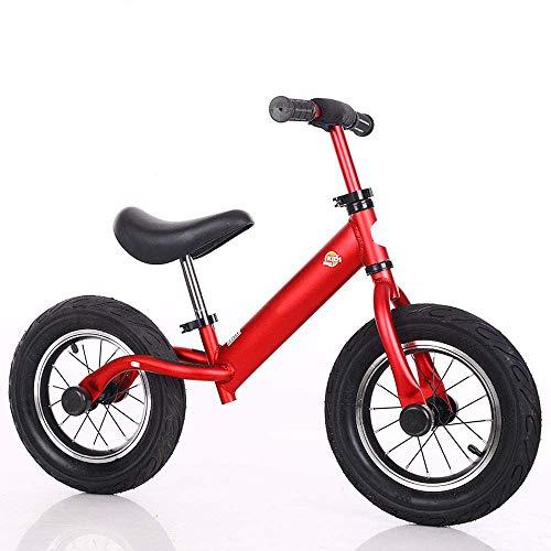 Kinder Laufrad, Ohne Pedal Kleinkindrad mit Aluminiumrahmen, Verstellbarer Lenker und Sattel, Kleinkind-Laufrad für Kinder von 3 bis 6 Jahren