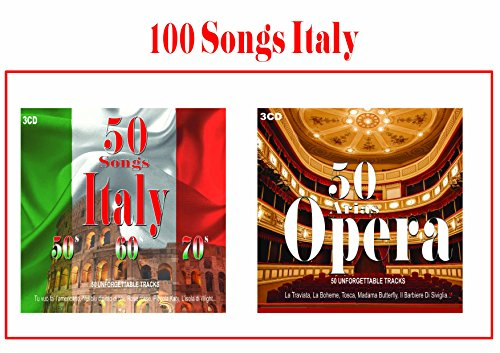 100 Songs Italy, Italian Music, Opera Music, Traditional Italian Music, Classical Italian Music