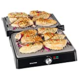 Máquina para hacer paninis y plancha sana XL Marblestone EK