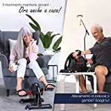 Zoom IMG-1 sportstech home trainer mini cyclette