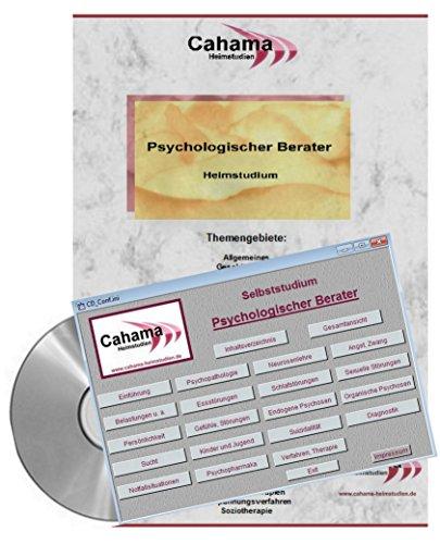 Psychologischer Berater - Heimstudium auf CD