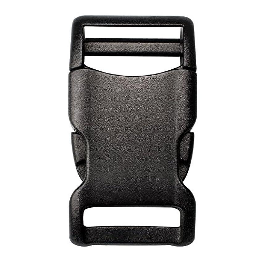 DYZD Plastic Side Release Buckles Adjustable Webbing Buckles 4/5, 1, 1-1/2, 2 Inch Buckle for Backpack Bag, Webbing Strap (1 inch, 4 PCS)