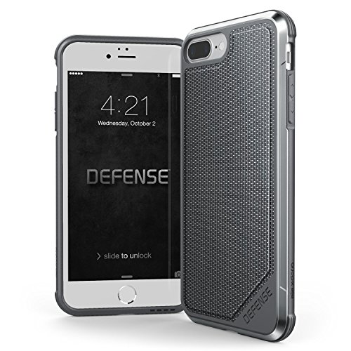 Capa Iphone 8/7 Plus X-doria Nylon Balístico Defense Lux Military Tested Original Certificada Militar