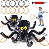 Max Fun Halloween Inflatable Spiders Ring...