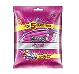 Wilkinson Sword Extra 2 BEAUTY - Pack 15 Maquinillas de Afeitar Desechables de 2 Hojas para Mujer, Depilación Femenina Manual