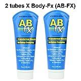 2 x Body FX AB-fx, 8 -Ounce Tube (2 tubes) by AbFX