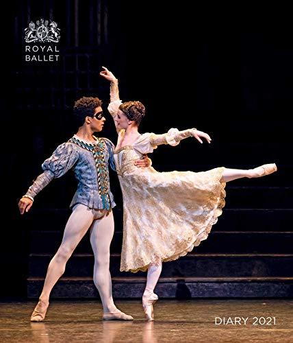Royal Ballet - Königlich Britisches Ballett 2021. Tischkalender: Original Flame Tree Publishing-Desk Diary. Wochenkalender
