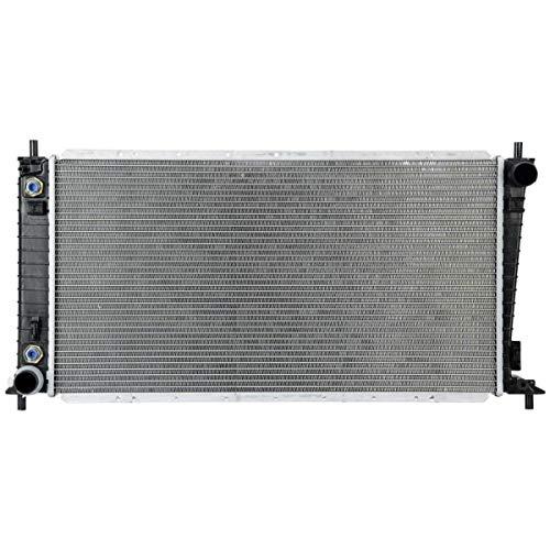 IINAWO Automatic Transmission(AT) Aluminum/Plastic Radiator 2 Row Compatible...