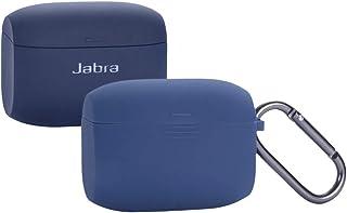 Jabra Elite Active 65t Silicone Case, Esimen Protective Skin Cover for Jabra Elite 65 Wireless Sports Earbuds (Blue)