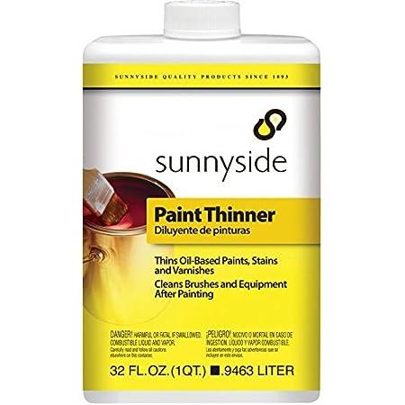 Sunnyside Paint Thinner, Cleaner and Degreaser, Quart, 70132