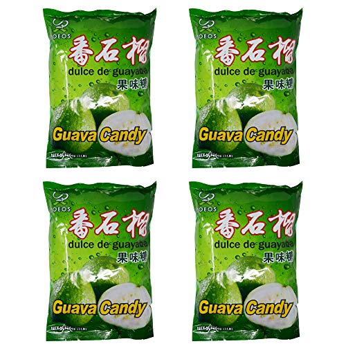 Soeos Guava Candy, Guava Hard Candy, Japanese Guava Candy, (4lbs).