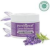 Purelygreat All Natural Womens Deodorant - Aluminum Free Deodorant for Women | Long Lasting | EWG...