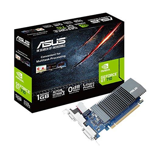 Asus GT710-SL-1GD5-BRK Geforce GT 710 Silent LP BRK D5 GeForce GT710 - Scheda grafica 1024 MB