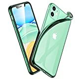 ESR Klar Silikon Kompatibel mit iPhone 11 Hülle - Dünne weiche TPU Schutzhülle - Flexible Slim...