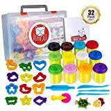 JoyCat Clay for Kids,DIY Modeling Clay Kits for Kids Aged 4-12, 12 Colors Clay&12 Animal Shapes Cutter&5...