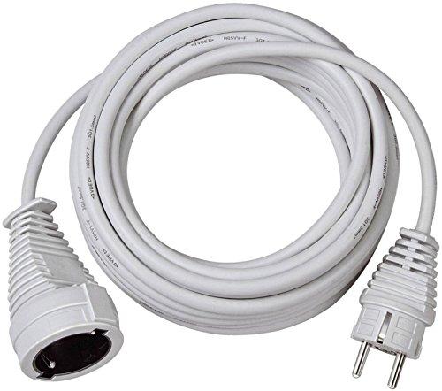 3er Packung Brennenstuhl Qualitäts-Kunststoff-Verlängerungskabel 5m weiß, 1168440