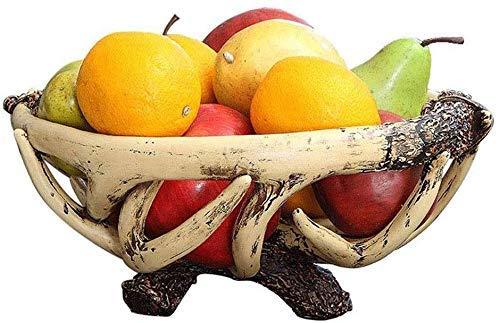 YNHNI Fruit Plate Fruit Basket Snack Plate Fruit Plate Living Assiette de Fruits secs Bonbons Salle de Fruits Assiette Simple Table Basse Grand Fruit Bowl Décoration Décoration Artisanat Plateau