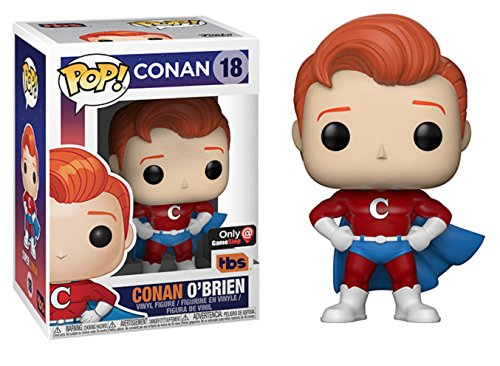 Funko Pop! Conan O'Brien Superhero Exclusive Vinyl Figure