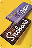 Vvision Suchard Milka Chocolate Blechschild Metall Plakat