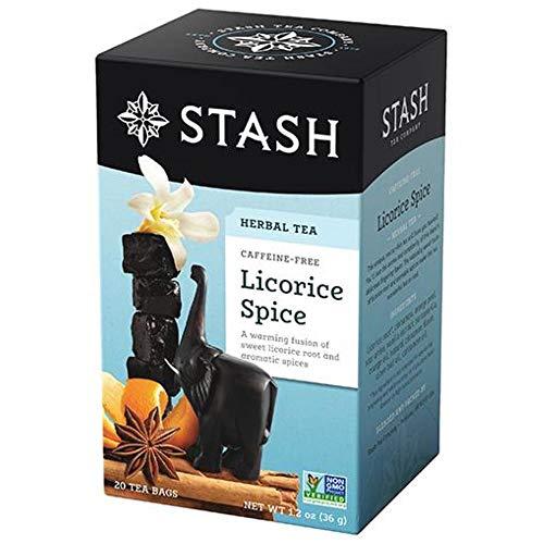 Stash Tea Spicy Licorice Tea - 20 ct (Pack of 2)