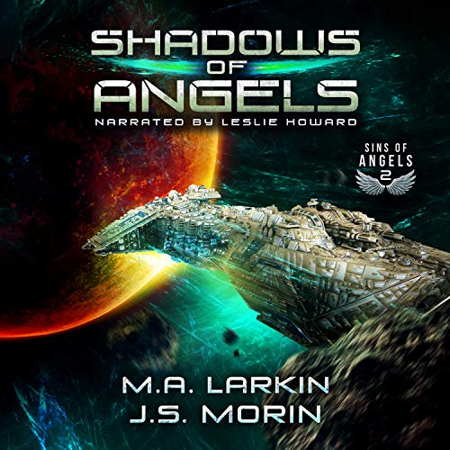 Shadows of Angels audiobook cover art
