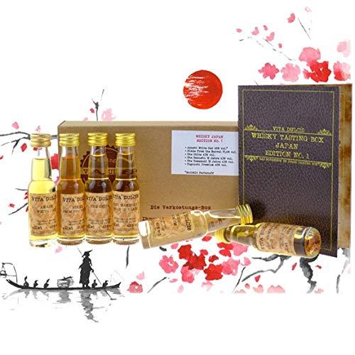 Vita Dulcis Caja de cata de whisky No. 7: Japón 6x0,02l