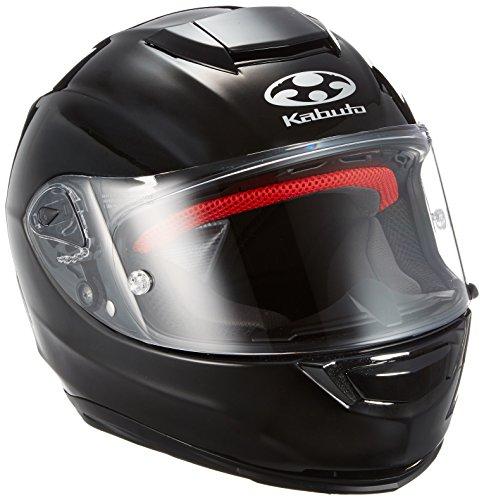 オージーケーカブト(OGK KABUTO)バイクヘルメット フルフェイス RT-33 ブラックメタリック (サイズ:L)