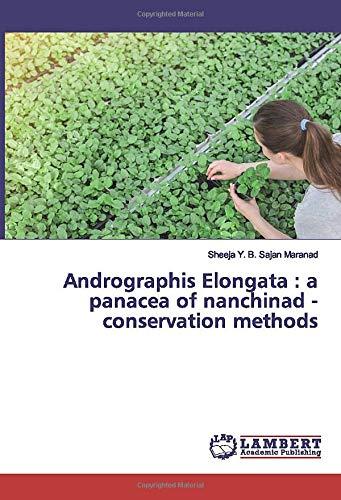 Andrographis Elongata : a panacea of...
