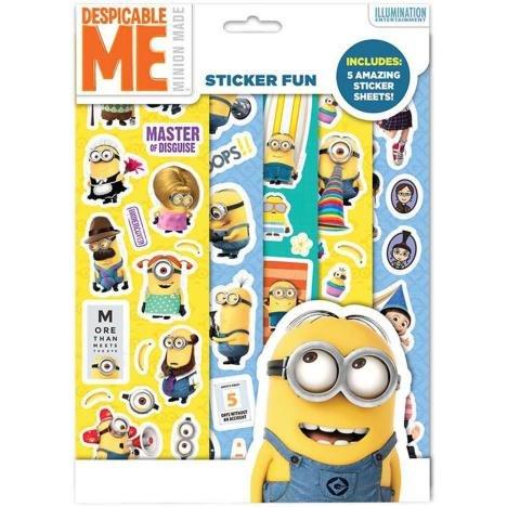 Minions Sticker Fun Pack