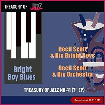 Bright Boy Blues - Treasury Of Jazz No. 41 (Recordings of 19.11.1929)