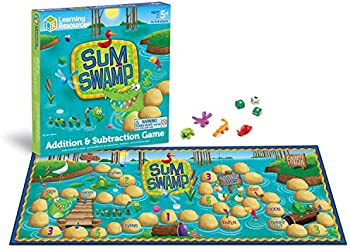 Learning Resources Sum Swamp Math Game