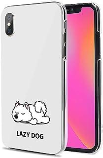 Huawei P40 Pro 5G ケース カバー スマホケース ハード TPU 素材 おしゃれ かわいい 耐衝撃 花柄 人気 全機種対応 怠惰な犬02 アニメ かわいい アニマル 9796537