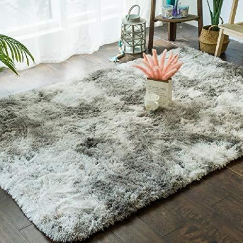 DHKJ Gradient Carpet Salotto Tavolino Tappeto Lavabile Capelli Lunghi Camera da Letto Moderna Moquette (Poliestere) 2
