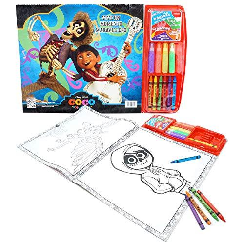 Disney Pixar Kit para Colorear de Coco