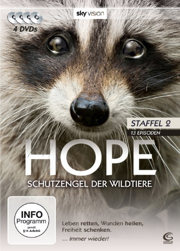 Hope - Schutzengel der Wildtiere (Staffel 2, 13 Episoden auf 4 DVDs, SKY VISION)