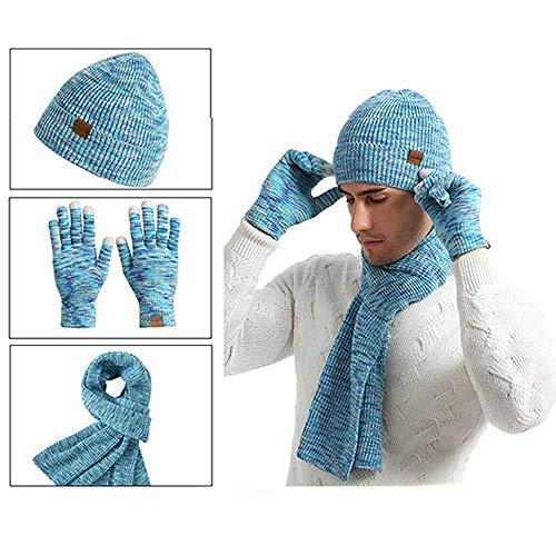 XBTECH Unisex Beanie Hat Calentador Cuello Invierno