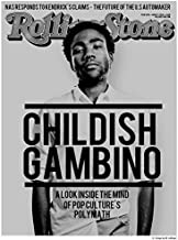 Get Motivation Childish Gambino Donald McKinley Glover Jr. mcDJ American actor comedian writer director producer singer songwriter rapper and DJ 12 x 18 inch poster