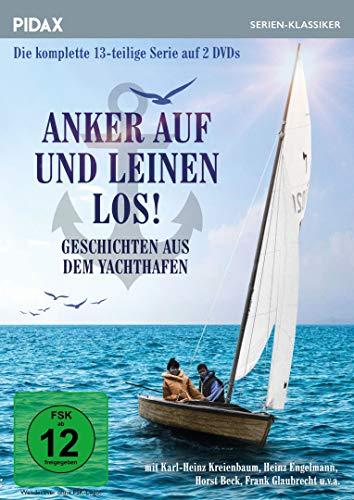 Anker auf und Leinen los! - Geschichten aus dem Yachthafen / Die komplette 13-teilige Serie mit toller Besetzung (Pidax Serien-Klassiker) [2 DVDs]