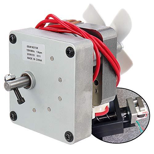 EsportsMJJ 120V 60Hz Vervangende Auger Motor voor Pit Boss Electric Wood Pellet Smoker Grill 14:5U