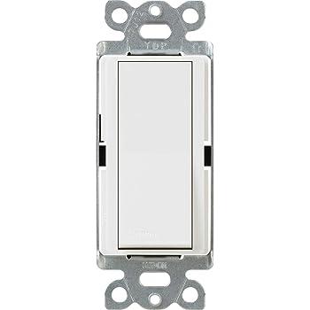 NEW @ New Lutron Claro E Switch 15 Amp Sp White Light Lamp Home New