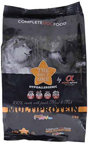 ALPHA SPIRIT Vollwertiges Nahrungsmittel trocken multiprotein hypoallergen für Hunde Erwachsene–3000gr
