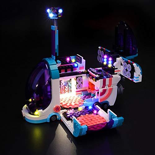 Nlne Conjunto De Luces para (Lego Película 2 Fiestabús Pop-Up) Modelo De Construcción De Bloques - Kit De Luz LED Compatible con Lego 70828 (NO Incluido En El Modelo)