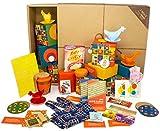 Großes DDR OSTPAKET Geschenkbox mit tollen Produkten für Küche & Haushalt