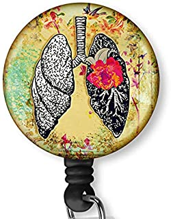 lung badge reel